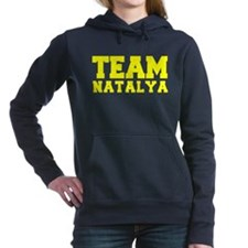 TEAM NATALYA Women's Hooded Sweatshirt
