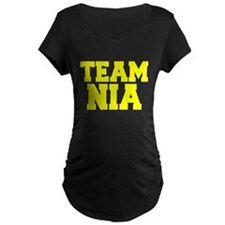 TEAM NIA Maternity T-Shirt