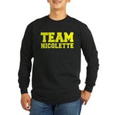 TEAM NICOLETTE Long Sleeve T-Shirt