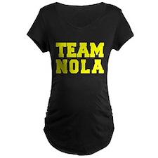 TEAM NOLA Maternity T-Shirt
