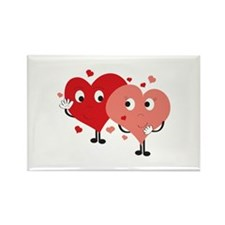 Two Hearts Magnets