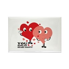 You Make My Heart Happy! Magnets