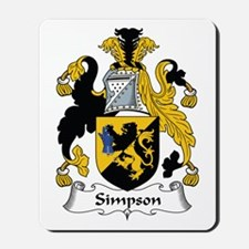 Simpson Mousepad