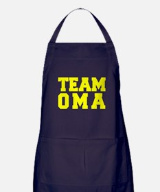 TEAM OMA Apron (dark)