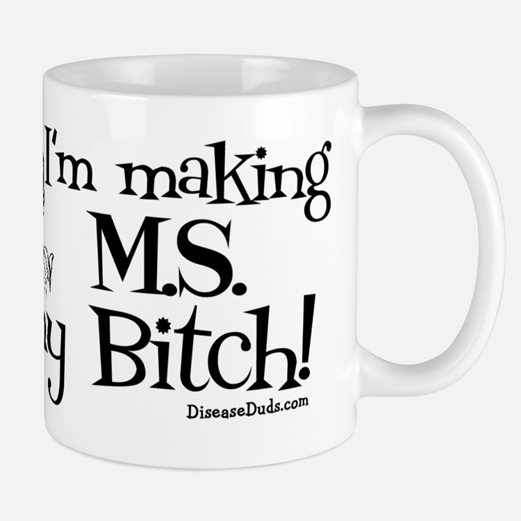 msbitchm_black Mugs