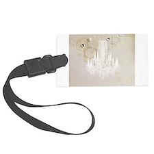 vintage chandelier modern fashion artistic Luggage Tag