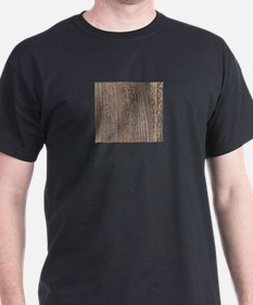 modern woodgrain country decor T-Shirt