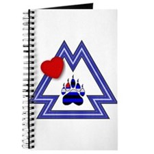 LEATHER PRIDE BEAR PAW EMBLEM Journal