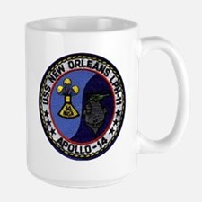 USS New Orleans & Apollo 14 Mug