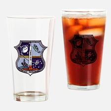 USS Okinawa & Apollo 15 Drinking Glass