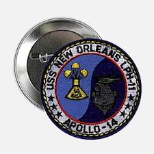 "USS New Orleans & Apollo 14 2.25"" Button"