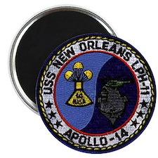 USS New Orleans & Apollo 14 Magnet