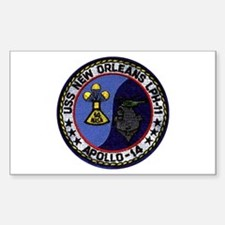 USS New Orleans & Apollo 14 Decal