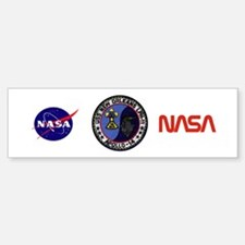 USS New Orleans & Apollo 14 Bumper Bumper Sticker