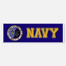 USS New Orleans & Apollo 14 Bumper Bumper Sticker