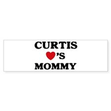 Curtis loves mommy Bumper Bumper Sticker
