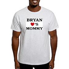 Bryan loves mommy T-Shirt