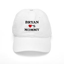 Bryan loves mommy Baseball Cap