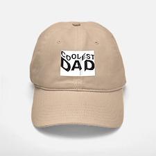 Coolest Dad Baseball Baseball Baseball Cap