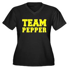 TEAM PEPPER Plus Size T-Shirt