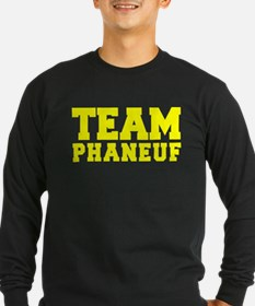 TEAM PHANEUF Long Sleeve T-Shirt