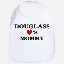 Douglass loves mommy Bib