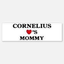 Cornelius loves mommy Bumper Bumper Bumper Sticker