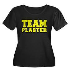 TEAM PLASTER Plus Size T-Shirt