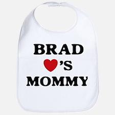 Brad loves mommy Bib