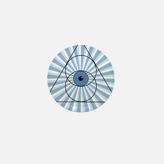New 3rd Eye Shirt2 Mini Button (100 pack)