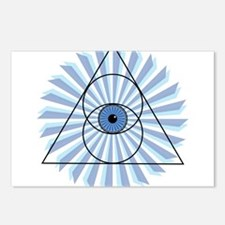 New 3rd Eye Shirt2 Postcards (Package of 8)
