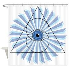 New 3rd Eye Shirt2 Shower Curtain