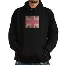 British Flag London UK fashion Hoodie