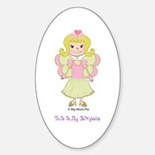 Fairy Princess Sophie Oval Decal