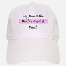 Worlds Greatest Priest Baseball Baseball Cap