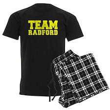 TEAM RADFORD Pajamas