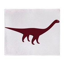 Diplodocus Throw Blanket