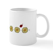 Flower Ladybug Mugs