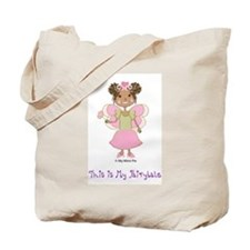 Cute African american Tote Bag