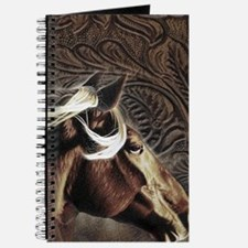modern horse brown leather texture Journal