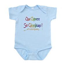 Chevere ser Colombiano Infant Bodysuit