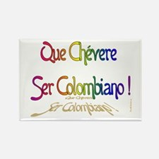 Chevere ser Colombiano Rectangle Magnet