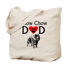 Chow Chow Dad Tote Bag