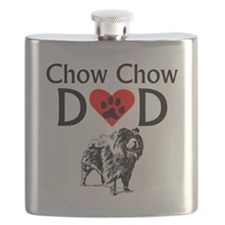 Chow Chow Dad Flask