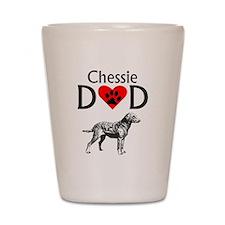 Chessie Dad Shot Glass