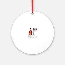 Kindergarten Ornament (Round)