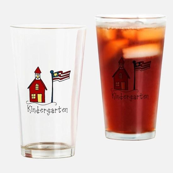 Kindergarten Drinking Glass