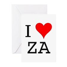 I Love ZA Greeting Cards (Pk of 10)
