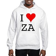 I Love ZA Hoodie
