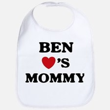 Ben loves mommy Bib
